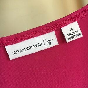 Susan Graver Tops - Susan Graver Liquid Knit Sleeveless Tunic - M